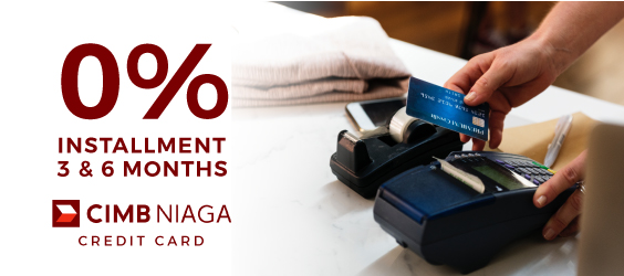 0% Installment for CIMB Niaga Credit Card