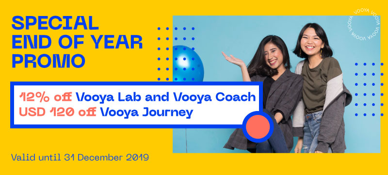 End of Year 2019 Sale - Vooya Journey