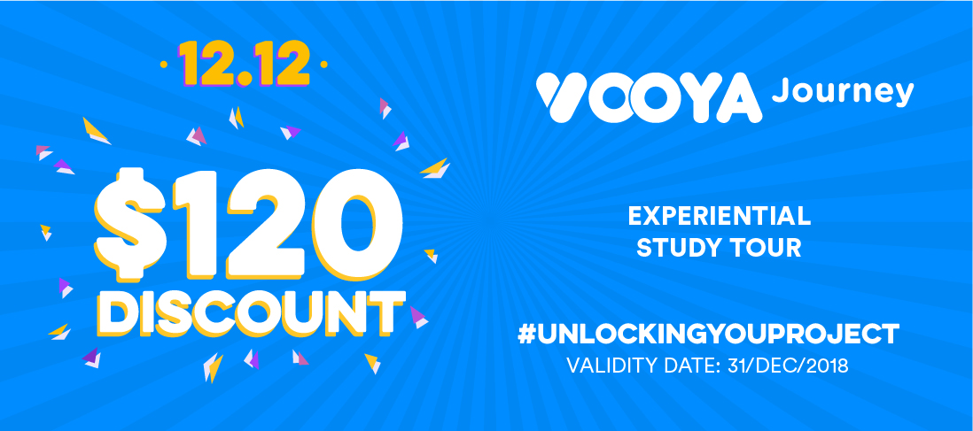 $120 Discount for Vooya Journey