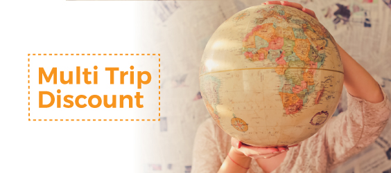 USD 400 Off for Multiple Vooya Journey Trips Booking!
