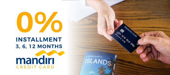 0% Installment for Mandiri Credit Card