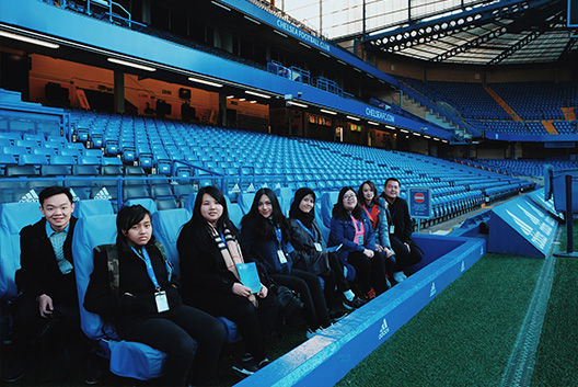 Business Football at Chelsea FC