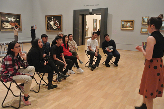 Australian Art Tour & Creative Workshop at National Gallery of Victoria