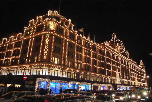 Shopping at Harrods