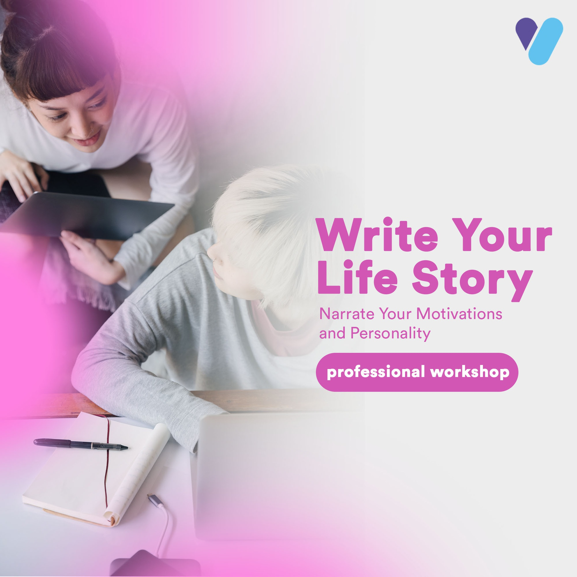 Write Your Life Story: Narrate Your Motivations and Personality
