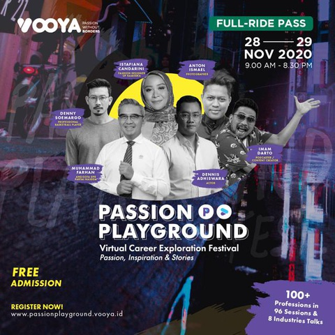 Passion Playground Online Festival (Full Ride Pass)